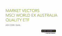 Market Vectors MSCI World ex Australia Quality ETF